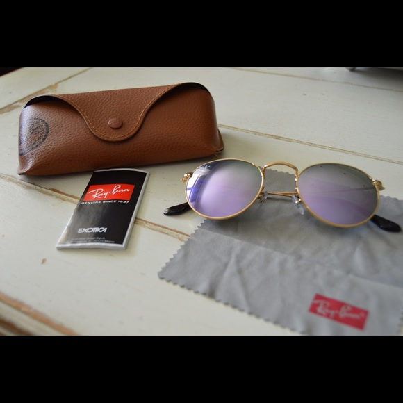 afeaff5692bf6 Lilac Mirrored Round Ray-Bans. M 5b22b9633e0caa2d69b0a1c8